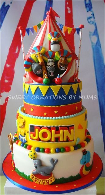 "Photo 1 of 5: Madagascar Circus / Birthday ""John's Birthday "" 
