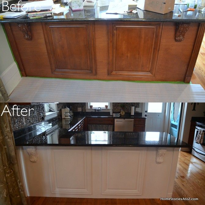 White Painted Kitchen Island & Pantry Screen Door {$100 Lowes Giftcard