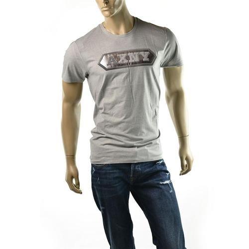Armani Exchange Mens T Shirt Halmark Foil Logo A|X