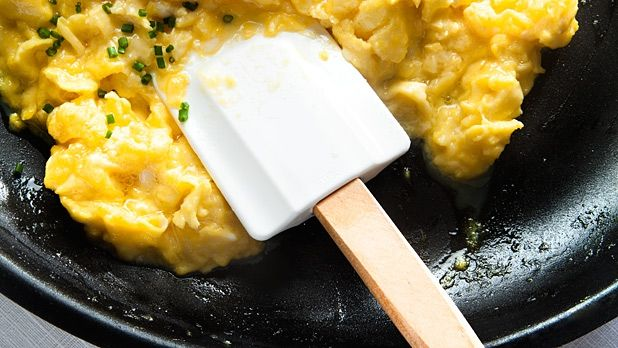 The Best Way to Make Slow-Scrambled Eggs