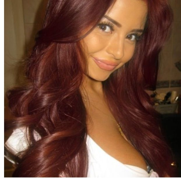 Dark Red Hair  Glamour Is An Illusion  Pinterest