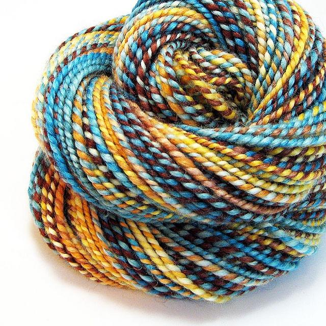 Handspun Yarn : Handspun yarn Crafty Inspiration Pinterest