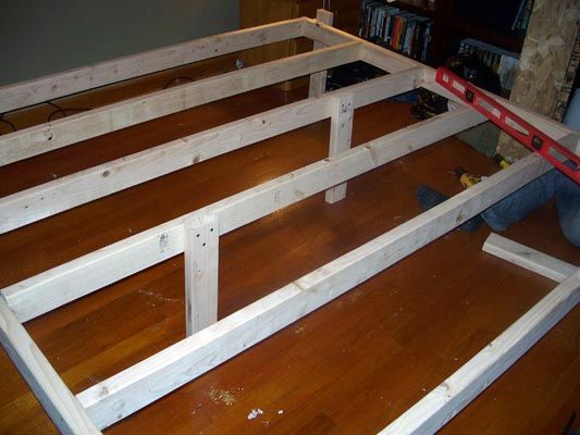 do it yourself wooden bed frames - Google Search