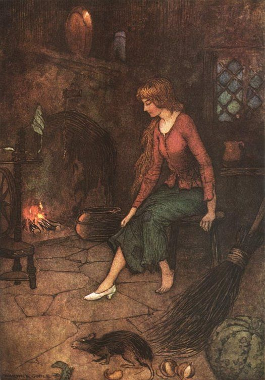 Cinderella, by Warwick Goble