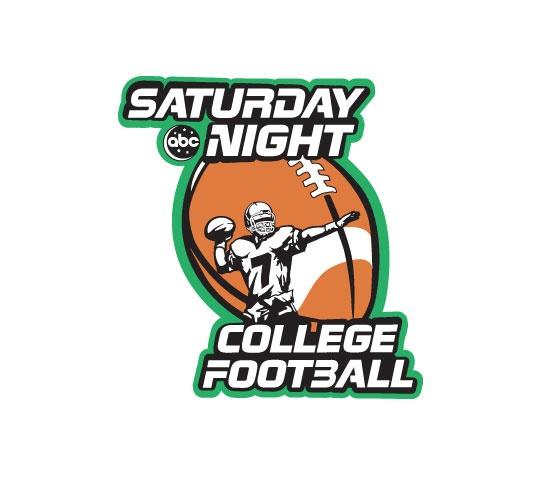 football team map saturday night college football
