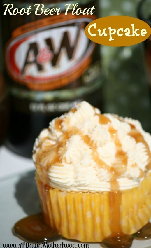 Root beer float cupcake | Eat Dessert First | Pinterest