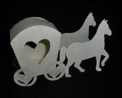 Kutsche aus Papier  Silhouette Cameo  Pinterest