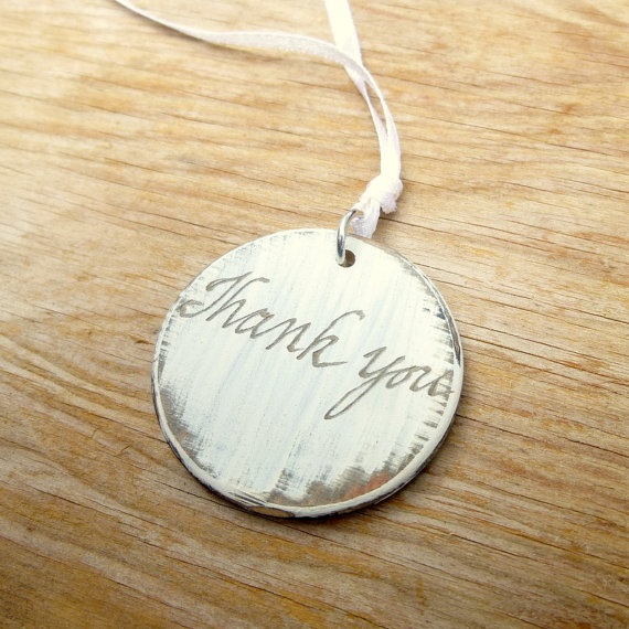 Engraved Wedding Favor Tags DIY Wedding Gift by WoodenHeartButtons, USD ...