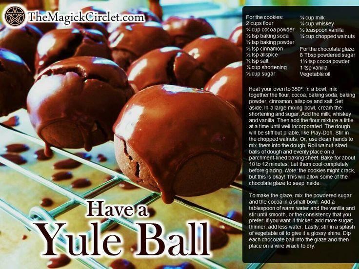 bourbon balls or rum balls | holiday decor....recetas y mas | Pintere ...