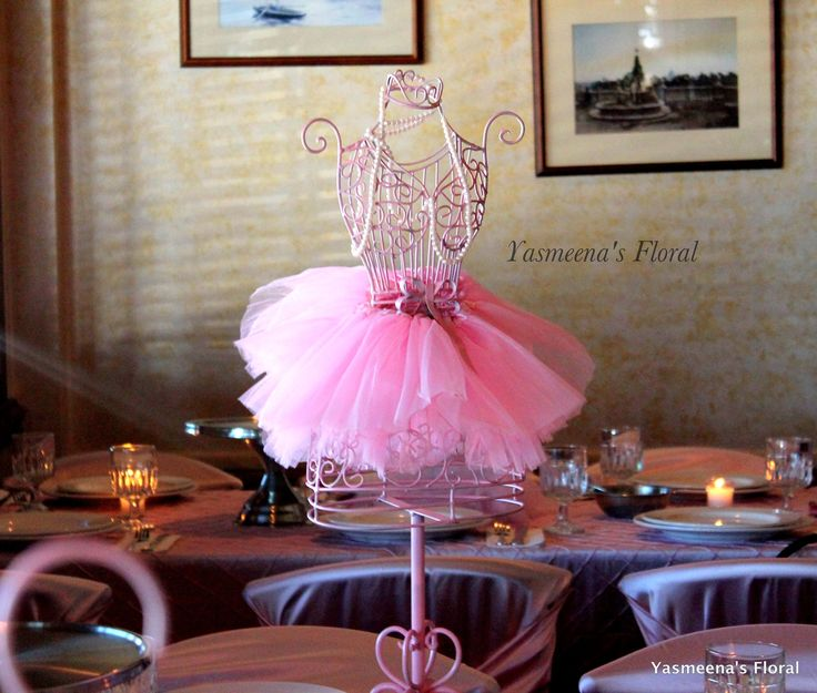 yasmeena 39 s floral ballerina tutu personalized baby shower theme