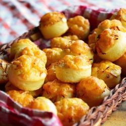 Hungarian Cheese Puffs. The ultimate crowd-pleaser at holiday parties!