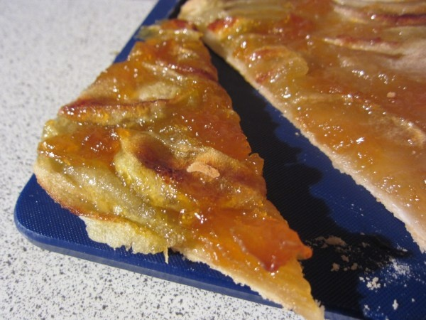 Sheet pan apple pie. Not many ingredients but lots of steps..not sure ...