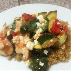 Chicken with Quinoa and Veggies Allrecipes.com. Omit feta cheese ...