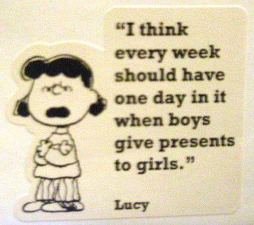 Well said Lucy.