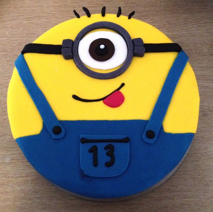 Minion cake cakes/ cupcake ideas Pinterest