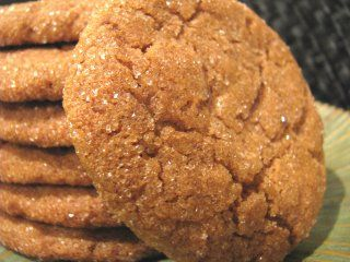 soft perfect gingersnaps | Sweets | Pinterest