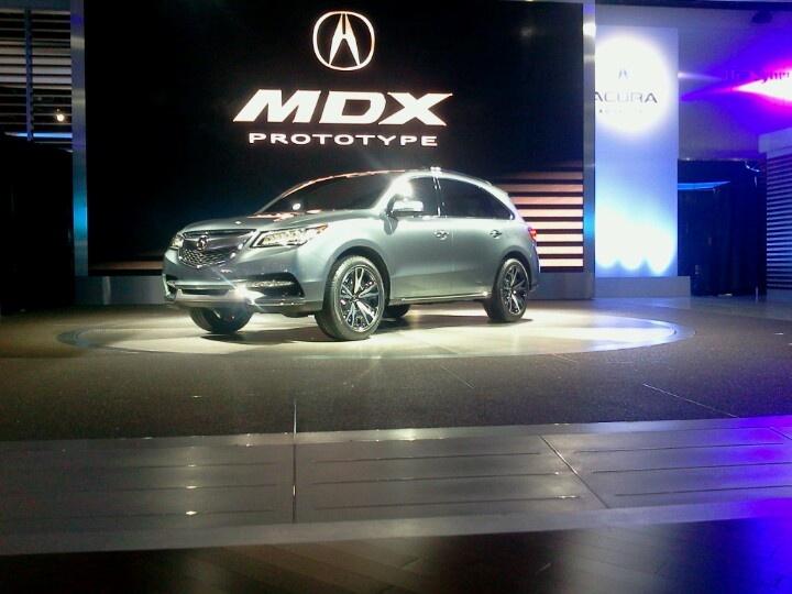 The 2014 Acura MDX 2014 MDX Pinterest as well Acura MDX Prototype Car ...