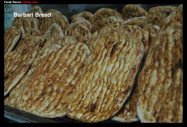 Noon Barbari | Persia | Pinterest