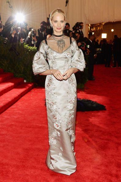 Lauren Santo Domingo in Dolce & Gabbana at the Met Gala 2013