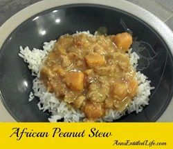 African Chicken Peanut Stew - This is one of my favorite low-sodium ...
