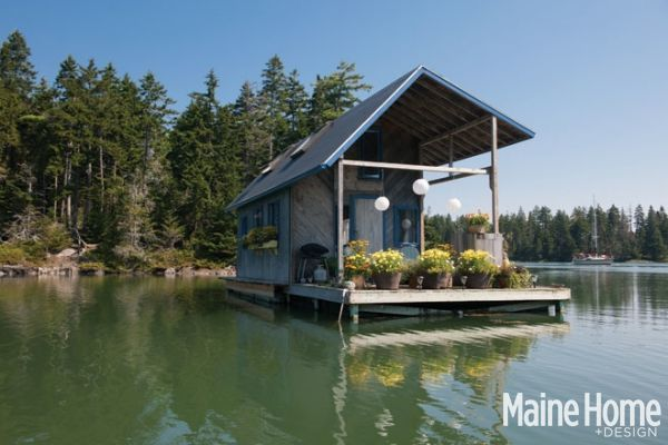 Pond house tiny house on our pond pinterest for Maine home design