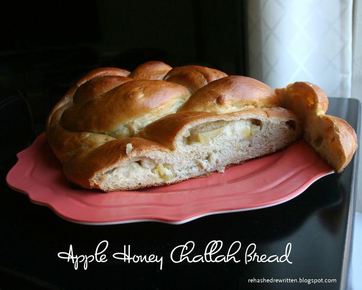 Apple Honey Challah Bread | Rehashed & Rewritten