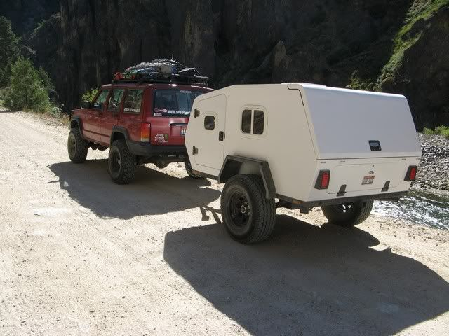 Cool Camping Trailer