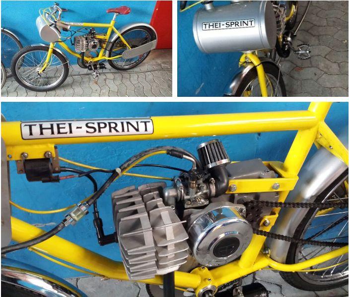 Cycling derny bike velodrome