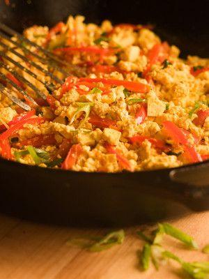 Southwestern Scrambled Tofu | Vegetarian and Vegan Food ideas | Pinte ...