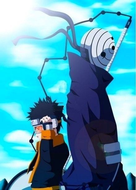 Obito, the jinchuuriki of ten-tails | Dojutsu | Pinterest