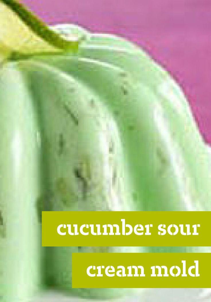 Cucumbers In Sour Cream Recipe — Dishmaps