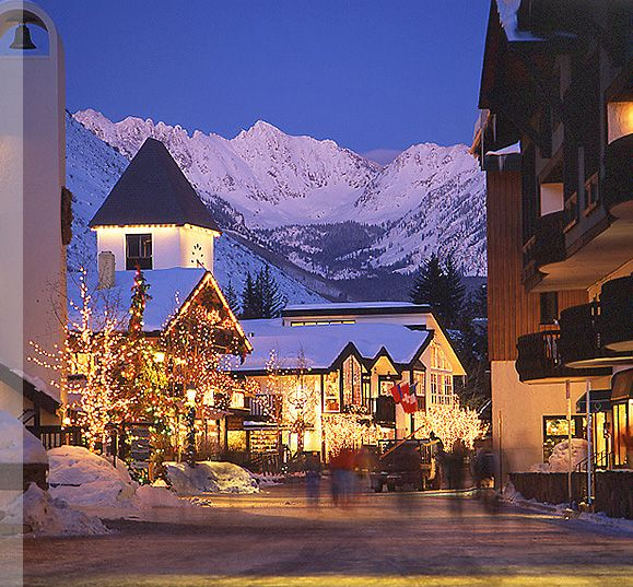 Vail Village In The Winter Christmas In America Pinterest