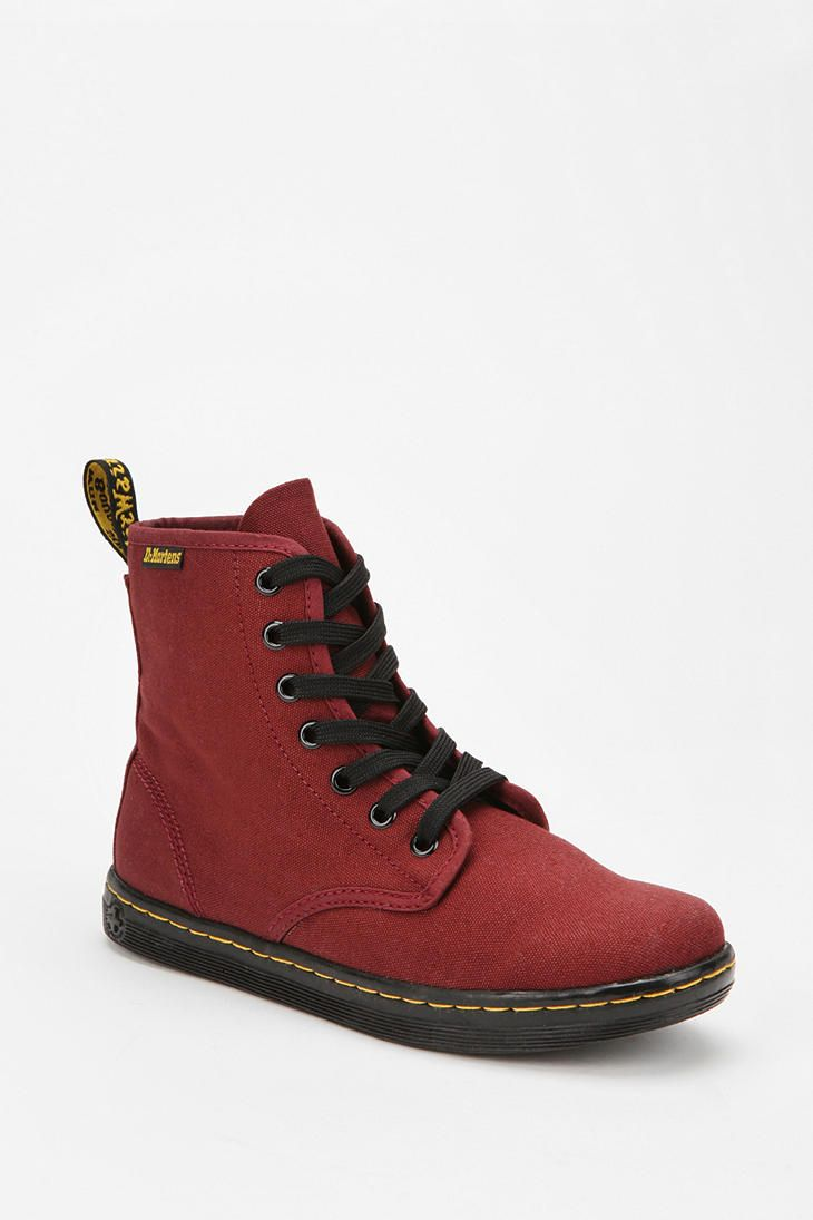 Dr. Martens Canvas Shoreditch Boot  #UrbanOutfitters