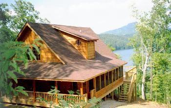 Mountain Lake Log Cabin For The Home Pinterest