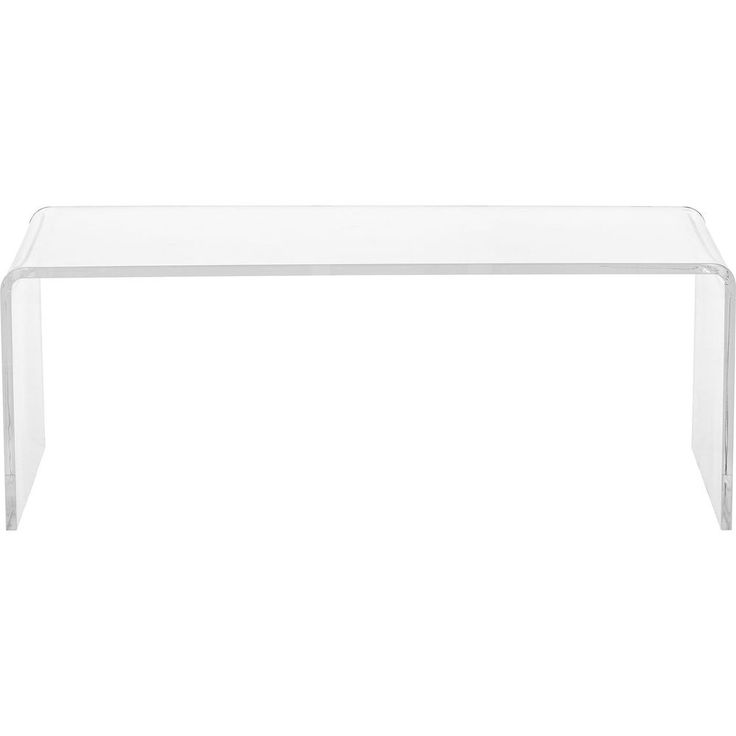Clear Acrylic Coffee Table  Overstock.com Shopping - Great Deals on ...