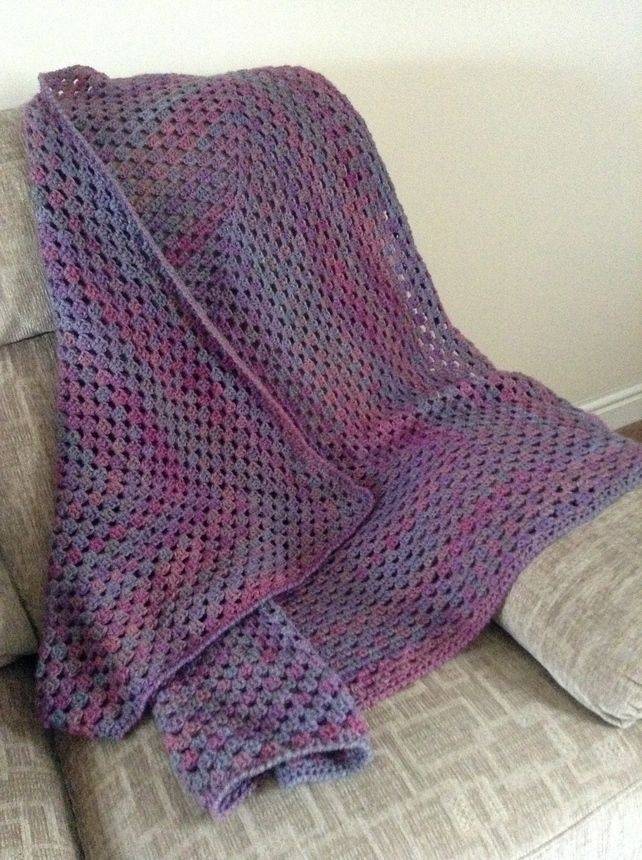 Crochet Lap Blanket : Hand crocheted lap blanket or throw ?45.00
