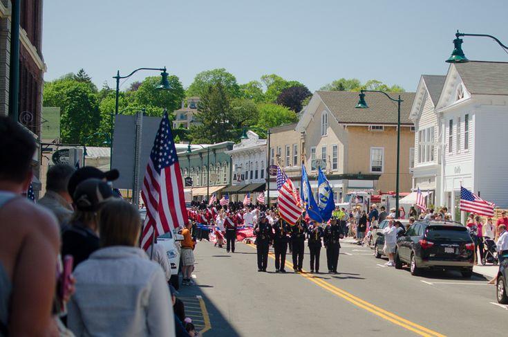 memorial day parade ct 2015