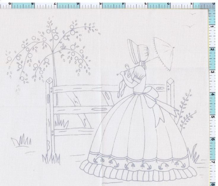 Crinoline Lady  Google Search  Embroidery  Pinterest