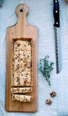 Apple Brie Walnut Tart | Picnics | Pinterest
