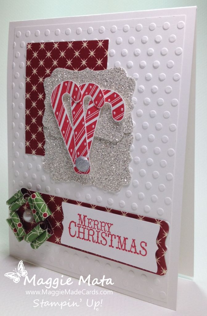 Stampin up candy canes cards christmas pinterest