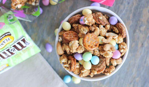 Easter Caramel Peanut Butter Popcorn - Julie's Jazz | Idaho Falls Food ...