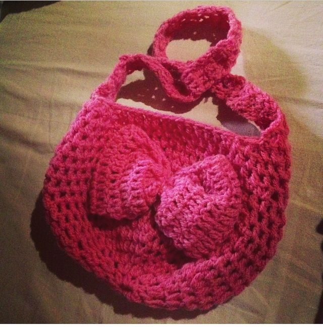 Crochet Bag For Kids : Crochet kids bag :) Crochet Pinterest