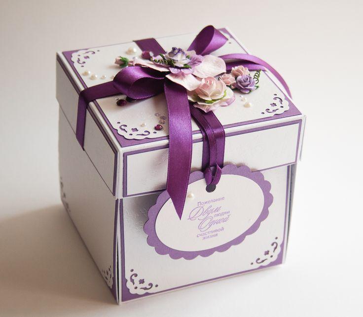 Свадебные коробочки для подарка 53