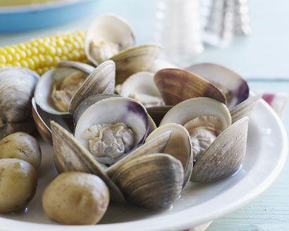 Garlic-Beer Steamers | Recipe
