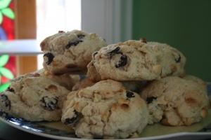 White Chocolate & Cherry Scones | My Favorite Recipes | Pinterest