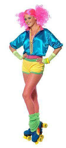 80s Roller Disco Girl