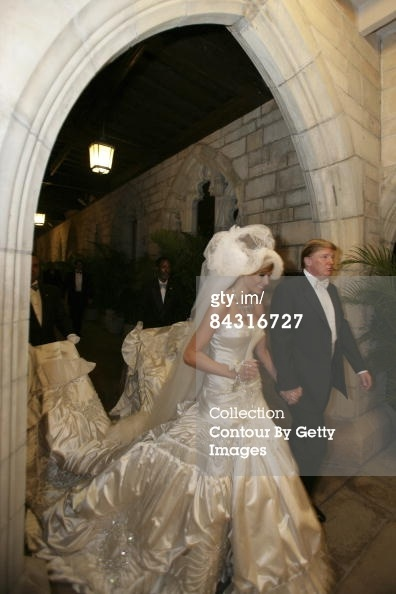 melania trump wedding dress 1 just in time for president