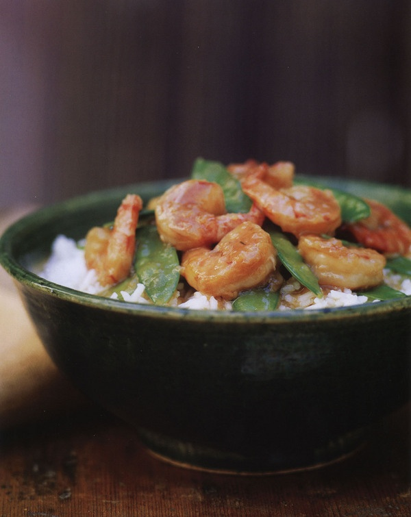 Stir-Fried Garlic Shrimp with Snow Peas | What's For Dinner #5 | Pint ...