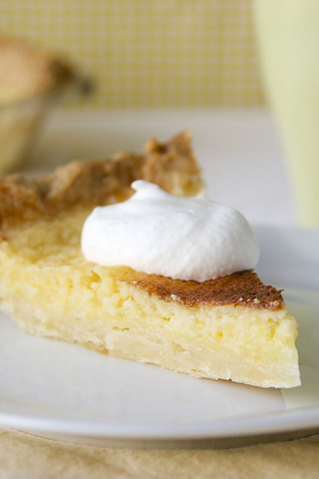 Lemon Chess Pie | Food and Libations | Pinterest