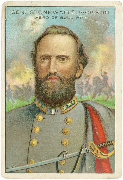 Stonewall Jackson ~ Civil War Daily Gazette
